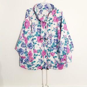 Floral forever21 jacket